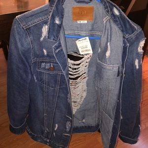 Denim distressed Jacket